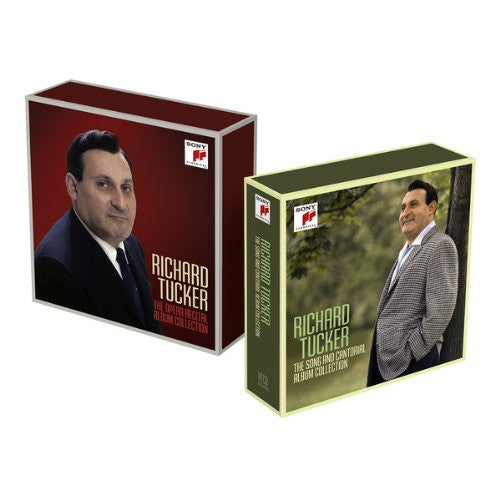 THE RICHARD TUCKER COLLECTION - THE OPERA RECITAL ALBUM COLLECTION (11 CDs)