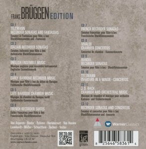 Frans Bruggen Edition Vol. 1-12 (12 CDs)