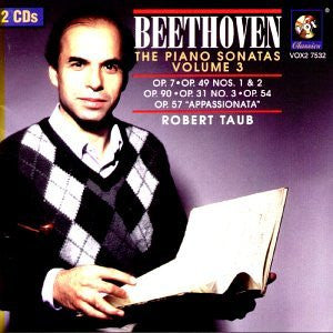 Beethoven: The Complete Piano Sonatas, Volume 3 - Robert Taub (2 CDs)
