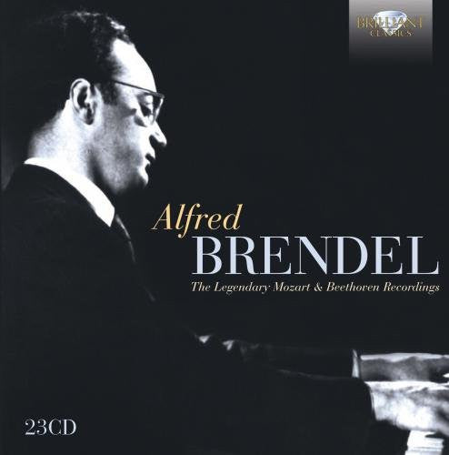 ALFRED BRENDEL: THE LEGENDARY MOZART AND BEETHOVEN RECORDINGS (23 CDS)