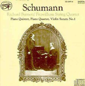 Schumann: Chamber Works - Richard Burnett, Fitzwilliam String Quartet