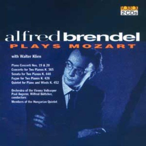 Alfred Brendel Plays Mozart (2 CDs with Walter Klein and the Hungarian Quartet)