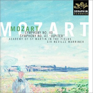 MOZART: SYMPHONIES NO. 40 & 41: MARRINER, ACADEMY OF ST. MARTIN IN THE FIELDS