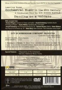 LEAVING HOME - ORCHESTRAL MUSIC IN THE 20TH CENTURY, VOLUME 1: DANCING ON A VOLCANO - SIMON RATTLE; CBSO; GIDON KREMER; FELICITY LOTT