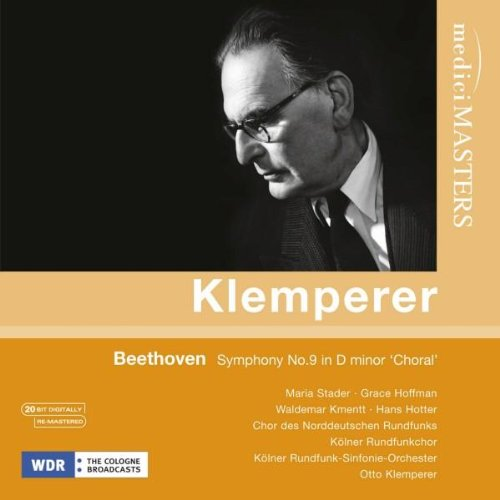 KLEMPERER CONDUCTS BEETHOVEN SYMPHONY NO. 9