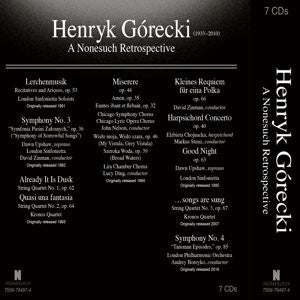 HENRYK GÓRECKI: A Nonesuch Retrospective (7CD Box Set)