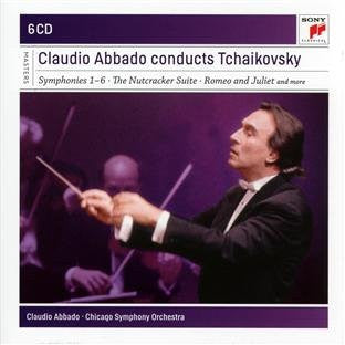 CLAUDIO ABBADO CONDUCTS TCHAIKOVSKY - Chicago Symphony Orchestra (6 CDs)