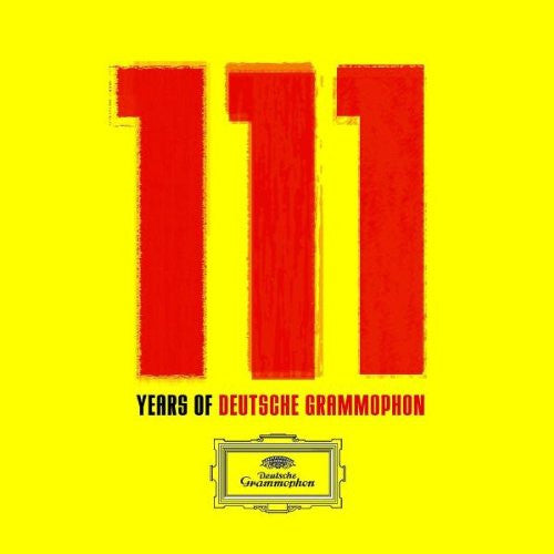 111 YEARS OF DEUTSCHE GRAMMOPHON (111 CLASSIC TRACKS)