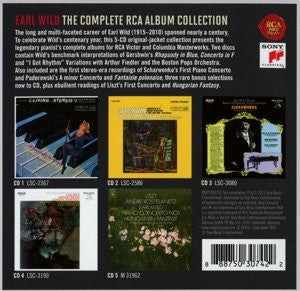 EARL WILD - THE COMPLETE RCA ALBUM COLLECTION (5 CDS)