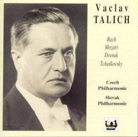 The Art of Vaclav Talich: Bach, Mozart, Dvorak, Tchaikovsky (2 CDs)