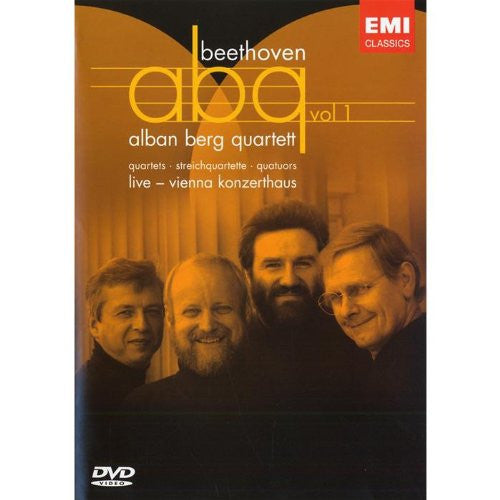 ALBAN BERG QUARTET PLAYS BEETHOVEN VOL 1 - LIVE VIENNA KONZERTHAUS