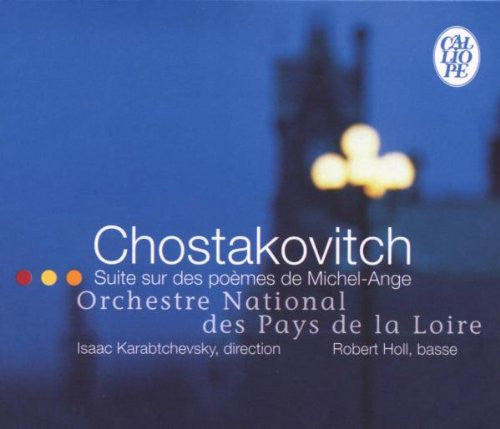 Shostakovich: Suite on verses by Michelangelo Buonarroti, for bass & orchestra, Op. 145a