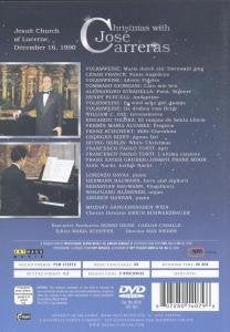 CHRISTMAS WITH JOSE CARRERAS - JOSE CARRERAS, MOZART SANGERKNABEN, LORENZO BAVAJ