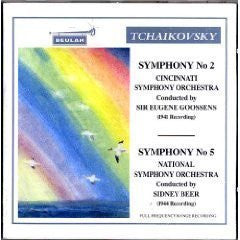 Tchaikovsky: Symphonies No. 2 and 5 - Goossens, Beer, Cincinnati Symphony, National Symphony (1941 and 1944 Recordings)