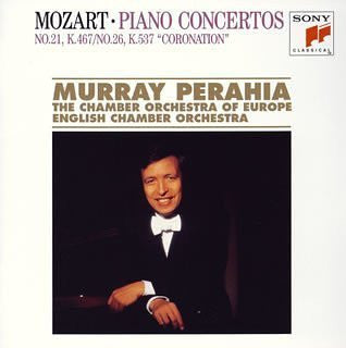 Mozart: Concertos for Piano and Orchestra No.21 in C Major, K.467; No.27 in B-flat Major, K.595 - Murray Perahia, Chamber Orchestra of Europe
