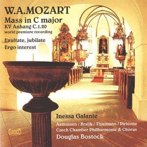 Mozart: Missa Solemnis in C major, KV Anhang C1.20 attrib. Mozart (World Premiere Recording)