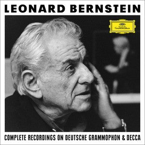 Leonard Bernstein: The Complete Recordings On Deutsche Grammophon & Decca (121 CDs, 36 DVDs, 1 Blu-Ray Audio)