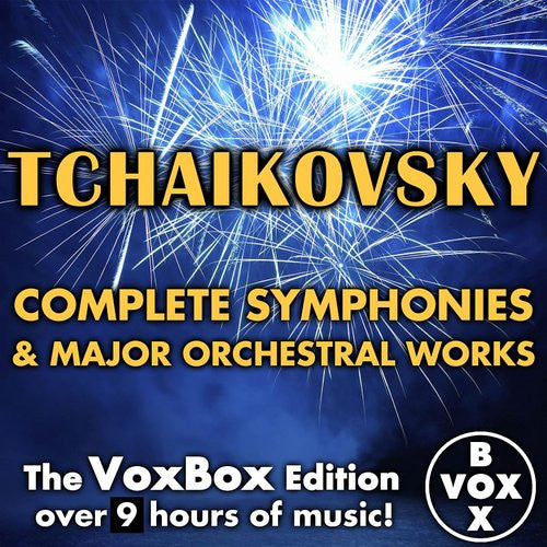 Tchaikovsky: Complete Symphonies and Major Orchestral Works (VoxBox Digital Download Boxed Set)