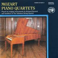 Mozart: Piano Quartets - Richard Burnett, Salomon String Quartet