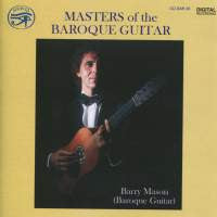 Masters of the Baroque Guitar - Barry Mason