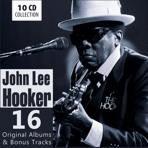 John Lee Hooker - 16 Original Albums + Bonus Tracks (10 CDs)