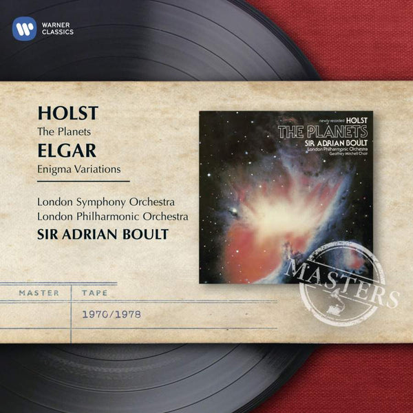 ELGAR: ENIGMA VARIATIONS & HOLST: THE PLANETS - BOULT, SIR ADRIAN