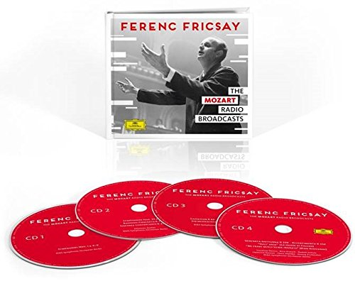 FERENC FRICSAY - THE UNRELEASED MOZART RADIO BROADCASTS - RIAS SYMPHONY  ORCHESTRA BERLIN (4 CDS)