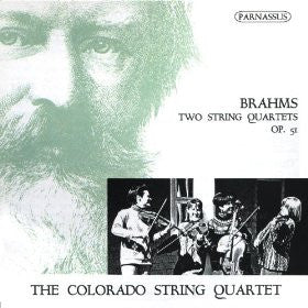 Brahms: 2 String Quartets - Colorado String Quartet