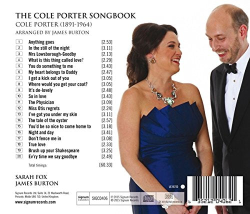 Cole Porter Songbook - Sarah Fox, James Burton