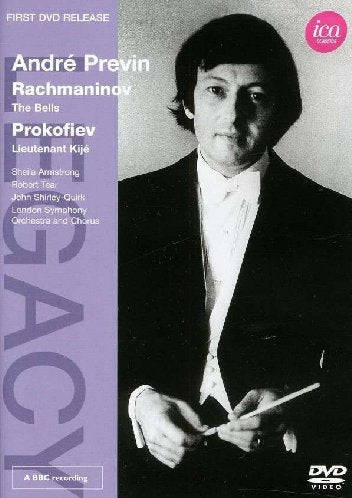 ANDRE PREVIN CONDUCTS RACHMANINOV, PROKOFIEV & BERNSTEIN (DVD) - LONDON SYMPHONY ORCHESTRA; PREVIN
