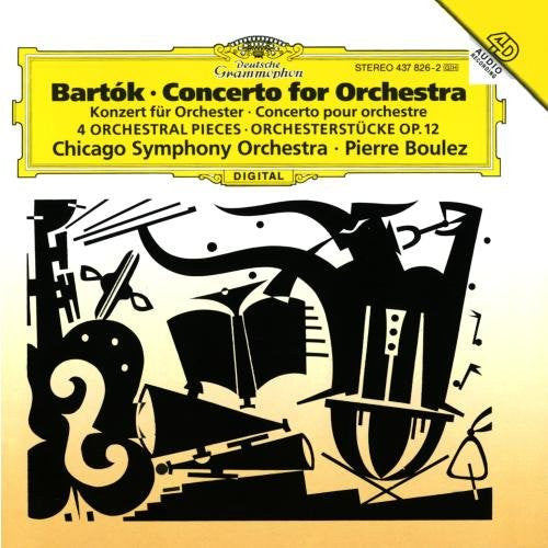 Bartok: Concerto for Orchestra, Orchestral Pieces, Op. 12 - Pierre Boulez, Chicago Symphony Orchestra