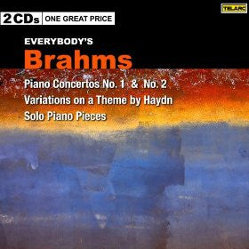 BRAHMS: Everybody's Brahms - Piano Concertos No.1 & No.2; Haydn Variations; Solo Piano Pieces - 2 CDs