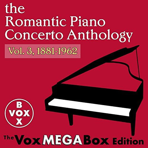The Romantic Piano Concerto Anthology, Volume 3 (A VoxBox Digital Download Boxed Set)