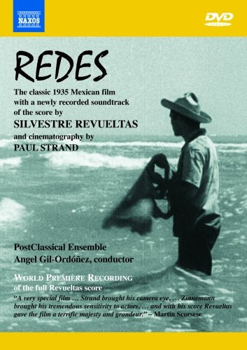 REVUELTAS: REDES (WITH RE-RECORDED SOUNDTRACK) - POSTCLASSICAL ENSEMBLE; GIL-ORDONEZ (DVD)