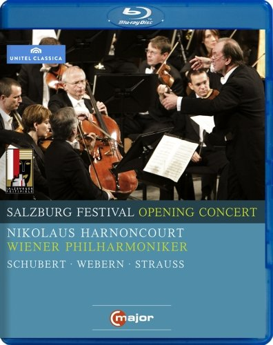 SALZBURG OPENING CONCERT 2009 - HARNONCOURT; VIENNA PHILHARMONIC ORCHESTRA (BLU-RAY)