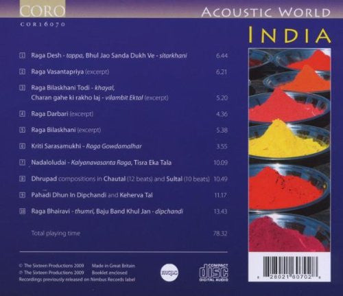 ACOUSTIC WORLD: INDIA