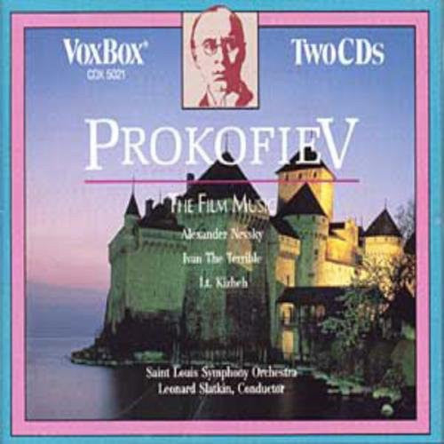 Prokofiev: The Film Music - Leonard Slatkin, St. Louis Symphony (2 CDs)