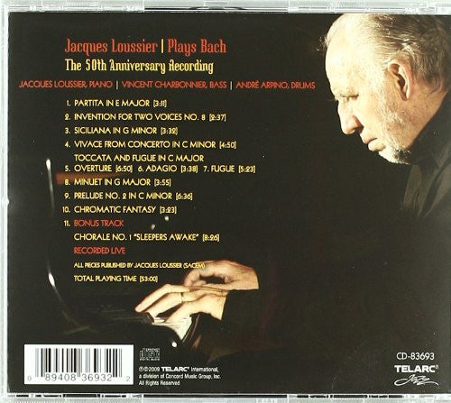 Jacques Loussier Plays Bach: The 50th Anniversary Recording