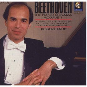 Beethoven: Piano Sonatas, Volume 1 - Robert Taub (2 CDs)