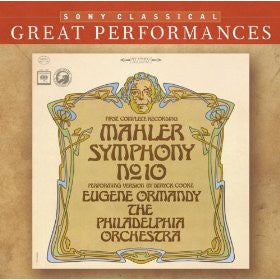 Mahler: Symphony No. 10 - Eugene Ormandy, Philadelphia Orchestra (Cooke's First Performing Edition)