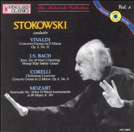 Stokowski Conducts Baroque and Classical: Bach, Mozart, Vivaldi and Corelli - Stokowski, Kipnis, National Symphony