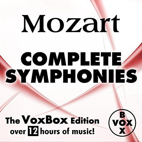 Mozart: Complete Symphonies - Gunter Kehr, Peter Maag (VoxBox Digital Download Boxed Set)