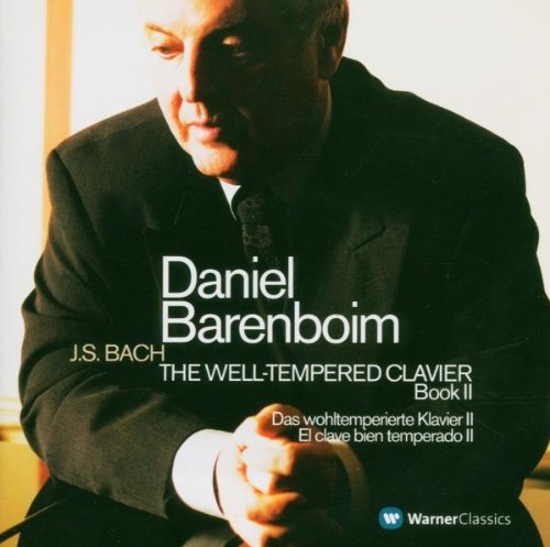 BACH: THE WELL-TEMPERED CLAVIER, BOOK 2 (COMPLETE) - BARENBOIM (3 CDs)
