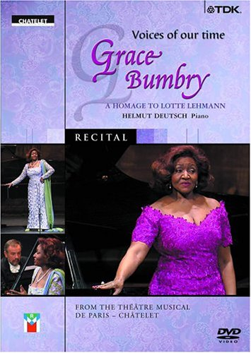 VOICES OF OUR TIME: GRACE BUMBRY - A TRIBUTE TO LOTTE LEHMAN (DVD)
