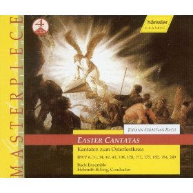 BACH: Cantatas for Easter - Helmuth Rilling, Bach-Collegium Stuttgart (4 CDs)