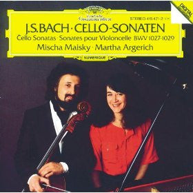 Bach: Cello Sonatas - Mischa Maisky and Martha Argerich