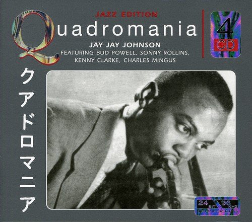JOHNSON, JAY JAY: Feat. Bud Powell,Sonny Rollins,Kenny Clarke,Charles Mingus(4 CDs)