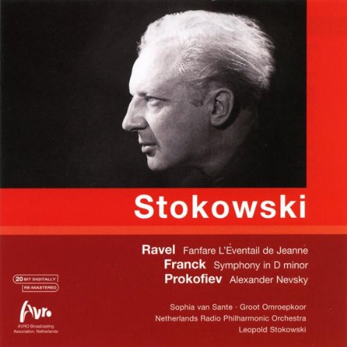 STOKOWSKI CONDUCTS RAVEL, FRANCK AND PROKOFIEV