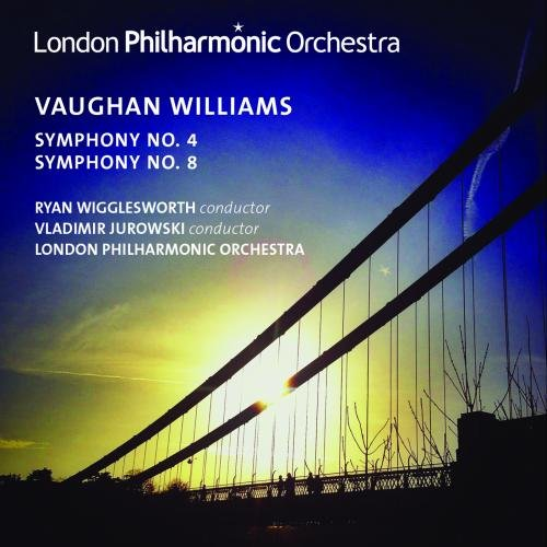 VAUGHAN WILLIAMS: SYMPHONIES NOS. 4 & 8 - LONDON PHILHARMONIC ORCHESTRA; JUROWSKI; WIGGLESWORTH