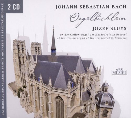 BACH (2CD SET): Orgelbuchlein-Jozef Sluys